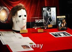 HALLOWEEN Prop KNIFE H20, Signed JAMIE LEE CURTIS Autograph, Signed MASK COA DVD