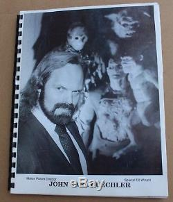 Halloween 4 The Return of Michael Myers Movie Prop John Carl Buechler Original