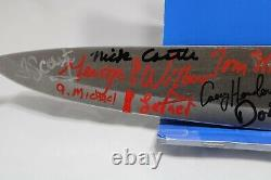 Halloween Chef Knife signed by 17 Micheal Myers! JSA Certified