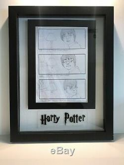 Harry Potter COS Production Used Original Hand Drawn Storyboard Film Movie Prop
