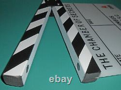 Harry Potter Chamber Of Secrets Movie Clapperboard Slate Used Chris Columbus