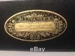 Harry Potter Movie Prop Ollivanders Wand Box! Real Movie Prop! COA