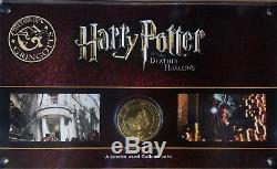 Harry Potter Movie Prop Screen Used Galleon Coin