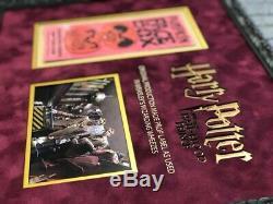 Harry Potter Original PROP Pumpkin Face Box label as used in Weasley shop