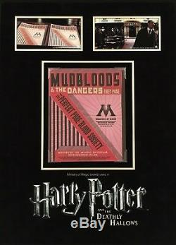 Harry Potter and the Deathly Hallows original Mudblood Magazine Prop display