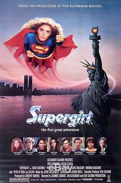 Helen Slater SUPERGIRL hero screen used movie costume