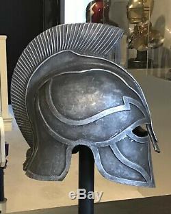 Hercules 2014 Movie Prop Silver Cavalry Helmet COA VERY RARE