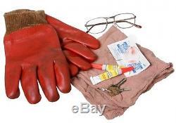 INCREDIBLE HULK Bruce Banner Original Movie Prop Set Glasses/Gloves AVENGERS