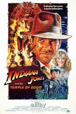 INDIANA JONES AND THE TEMPLE OF DOOM Movie Prop Banquet Beetle