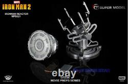 IN STOCK King Arts 1/1 MPS021 Iron Man Diecast LED Arc Reactor MK42 Movie Prop