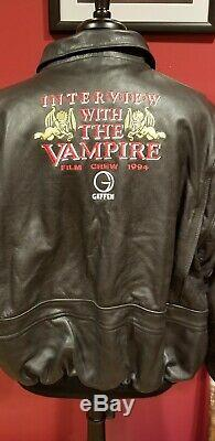 Interview with the vampire Crew Jacket Movie Prop Screenused