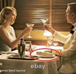 JAMES BOND 007 Rare SPECTRE film Prop Fine Cotton Napkin No Time To Die