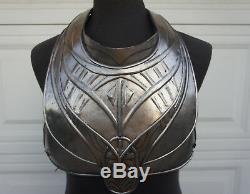 JOHN CARTER Movie Prop Male Helium Soldier chest Armor piece Medieval SciFi