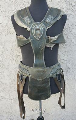 JOHN CARTER Movie Prop Wardrobe Armor Leather Harness Medieval Roman Larp D