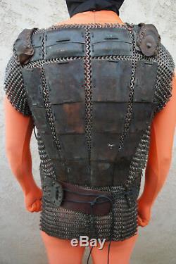 JOHN CARTER Movie Prop Wardrobe Zodanga Airship Chainmail leather Armor Medieval