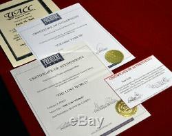 JURASSIC PARK Prop FERNS, Signed SAM NEILL Autograph UACC, COA DVD, Comic, Frame