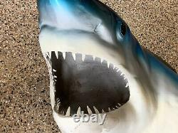 Jaws 3D Authentic Shark Head Movie Prop Rare Collectible Great Display Item WOW