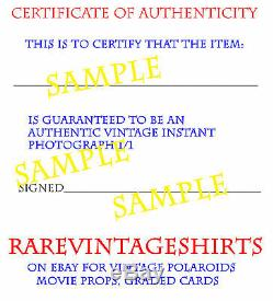 Jim Carrey Ace Ventura 1994 Continuity Polaroid Original Photo Movie Prop Hair