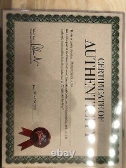 Jingle All The Way Booster Toy Prop Movie, Screen Used, Original, With Coa