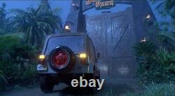 Jurassic Park Wayne Knight Autographed Signed License Plate Prop Seinfeld COA