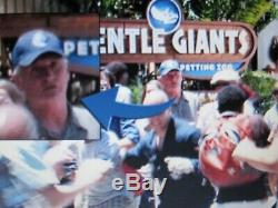 Jurassic World Original Hat Prop + Film Crew Movie Promo Park Pass