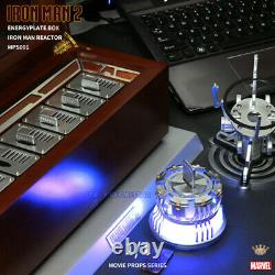 King Arts 1/1 Movie Props MPS001 Iron Man 2 Energy plate Box & Reactor In Stock