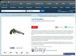 Les Miserables 2013 Screen-Used Movie Prop Flintlock Prop Store of London COA
