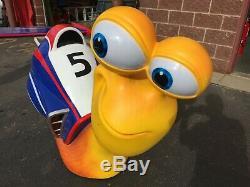 Life Size Movie Prop Turbo Snail Model