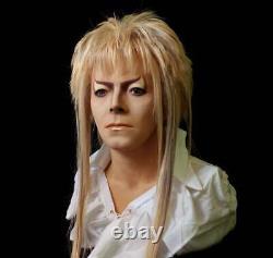 Lifesize Jareth Bust from Labyrinth David Bowie Movie Prop, blu ray dvd 4k cd