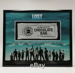 Lost Dharma Chocolate Bar Wrapper Prop Screen Used Coa