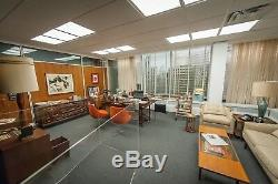 MAD MEN Original Production Screen Used Movie Prop DON DRAPERS Office Wall Art