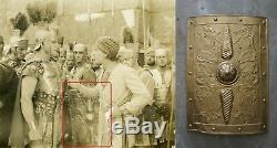 MGM Auction Antique Silent Film 1925 Ben Hur movie prop Roman shield Hollywood