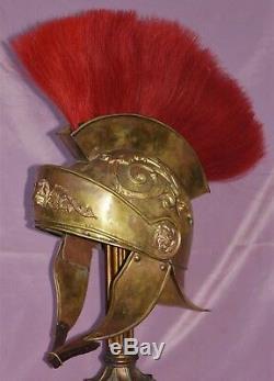 MGM Auction Antique Silent Film Ben Hur 1917 Cleopatra movie prop Roman Helmet