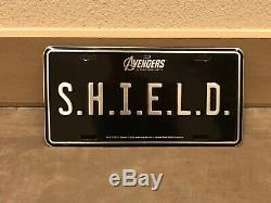 Marvel Agents Of Shield Avengers Crew Tv Movie Promo License Plate Prop