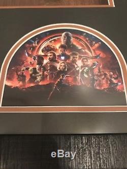 Marvel Avengers Infinity War SCREEN USED SET PIECE Movie Prop Titan Fight Scene