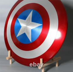 Marvel Legends Captain America 75th Metal Shield Boxed 1/1 Collection 24in