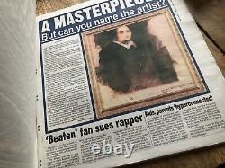 Masked Vigilante newspaper Jessica Jones Marvel Film Movie TV Prop COA