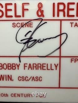 Me, Myself & Irene Jim Carrey Signed Original Movie Clapperboard Slate Prop LOA