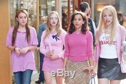 Mean Girls Lindsay Lohan Screen Worn Pink Shirt Movie Costume Prop So Fetch