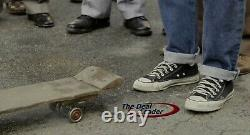 Michael J Fox Back To The Future signed WOOD SKATEBOARD HOVERBOARD Beckett