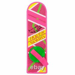 Michael J Fox signed Back to the Future Part II Hoverboard