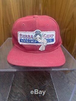 Movie prop Memorabilia Original screen Used Forest Gump Tom Hanks Hat Bubba Gump