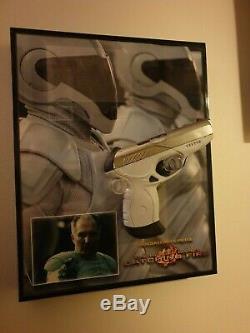 Movie prop hunger games peacekeeper stunt pistol withdisplay