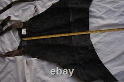 NOAH Original Movie Prop Wardrobe Leather Chest Armor SciFi apocalyptic Medieval