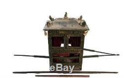 National Treasure Miniature Artifact Royal Chinese Sedan Chair Movie Prop