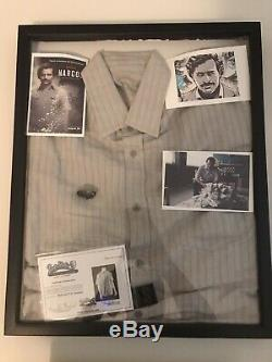 Netflix Narcos Original Screen Used Movie Props Pablo Escobar Shirt With COA