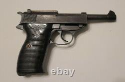 Nice Rare Vintage P38 MGC Prop Walther P-38 Metal Pistol LOOKS & FEELS Real