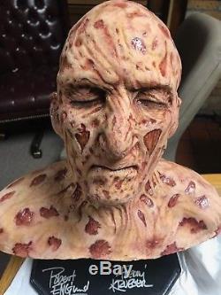 Nightmare on Elm Street Movie Prop Freddy Krueger Bust