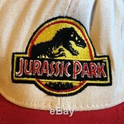 ORIGINAL Jurassic Park (1993) Rare SAMPLE Prototype Crew Cap Movie Film Prop