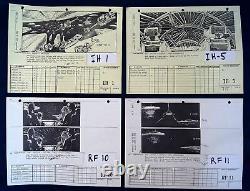 ORIGINAL Movie Prop STAR WARS ROTJ 1982 ILM x273 Storyboards Binder George Lucas